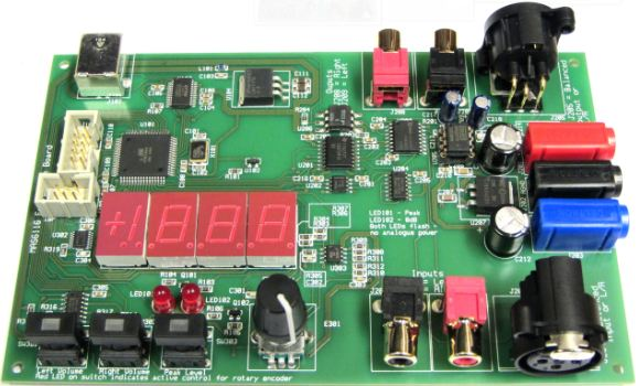 MAS6116 – Stereo Digital Volume Control IC   Micro Analog